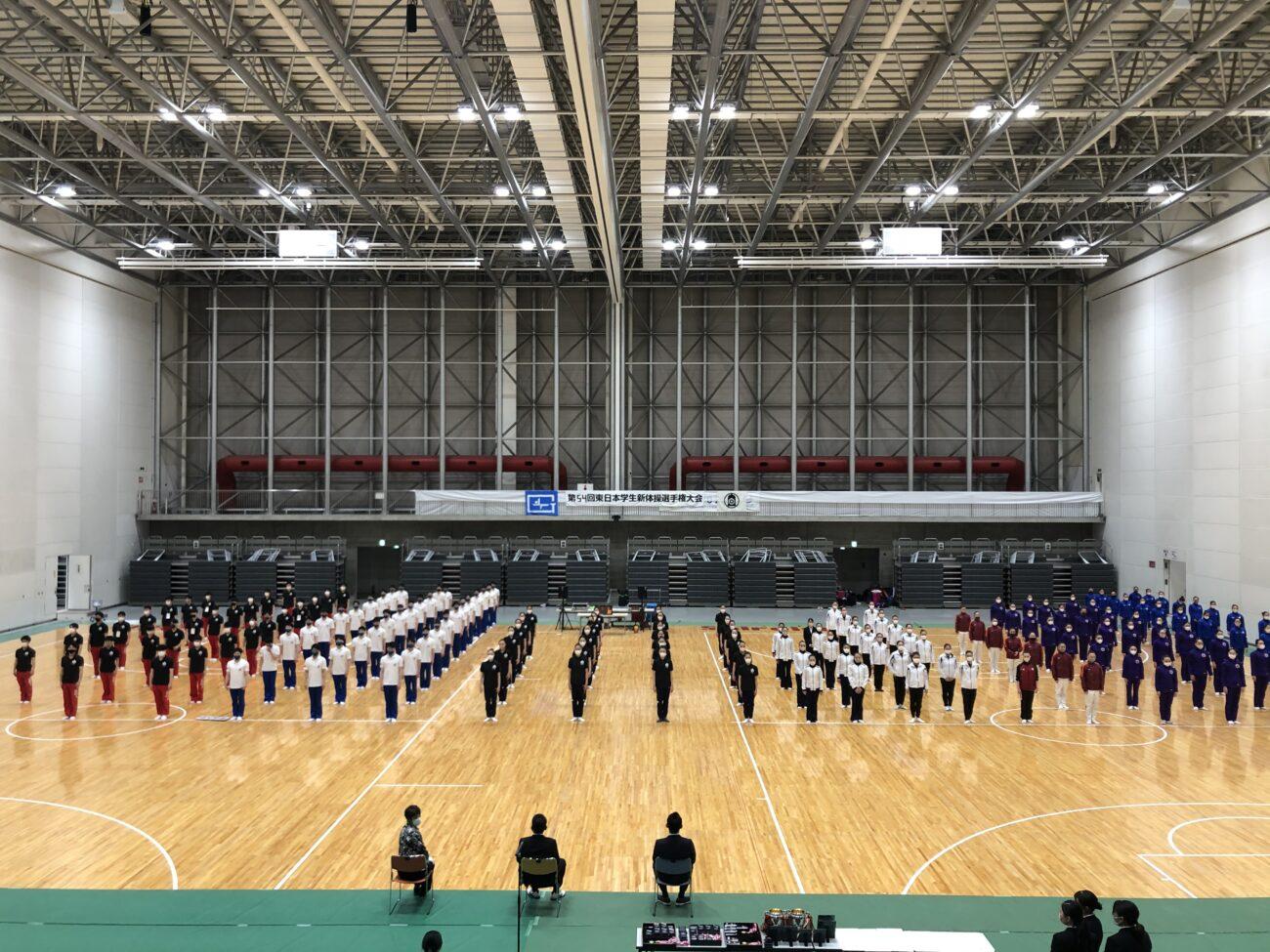 第54回東日本学生新体操選手権大会(2021)